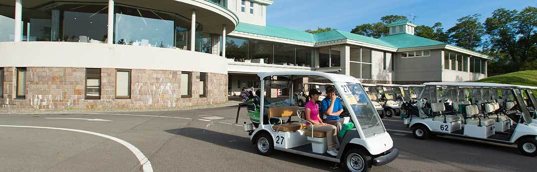 Hanazono Golf Course - Clubhouse